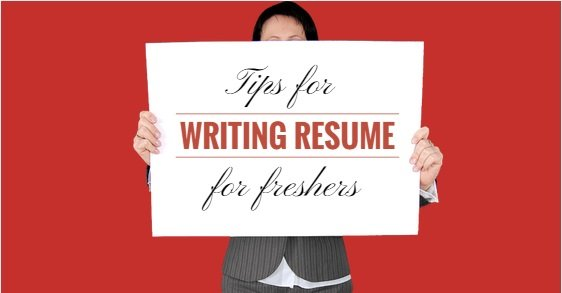 Writing A Perfect Fresher S Resume Cvdragon