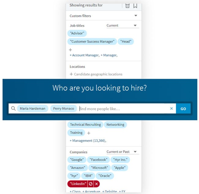 Importance of LinkedIn for recruiters
