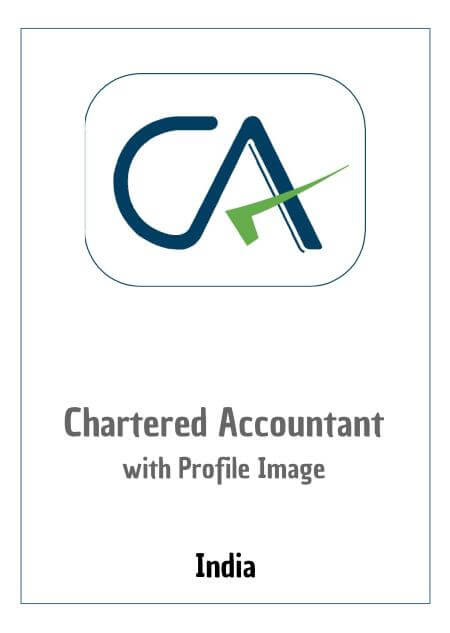 Resume Design - Chartered Accountant (with photo)