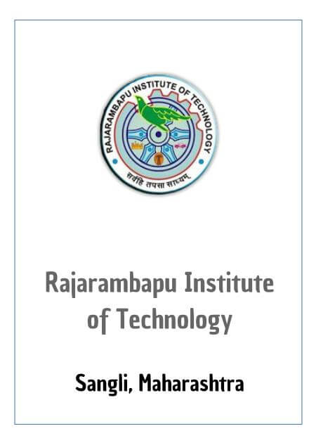 Resume Design - Rajarambapu Institute of Technology