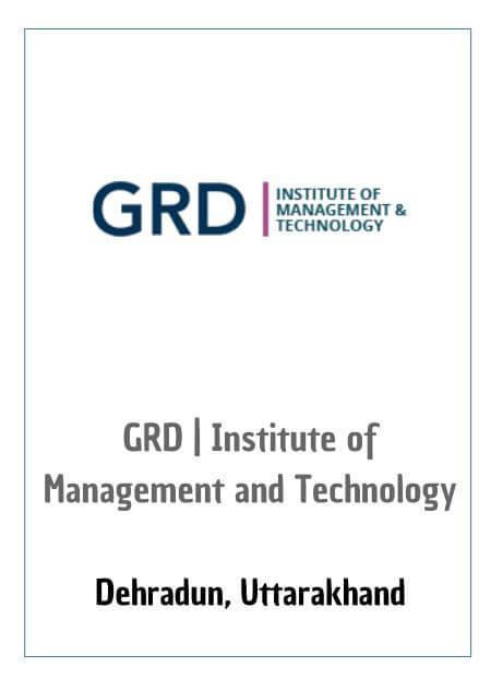 Resume Design - GRD - Institute of Management & Technology