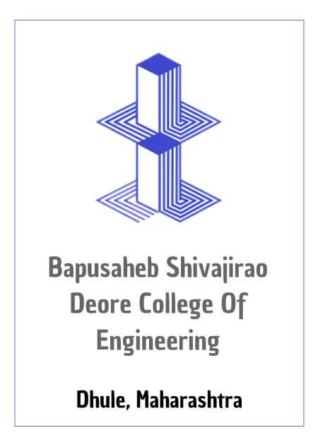 Resume Design - SSVPS Bapusaheb Shivajirao Deore College of Engineering, Dhule