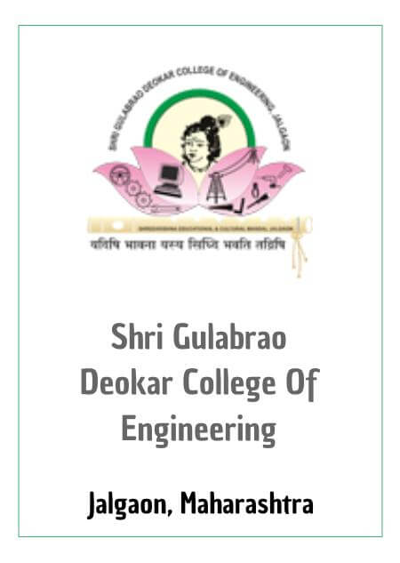 Resume Design - SHRI GULABRAO DEOKAR COLLEGE OF ENGINEERING, JALGAON