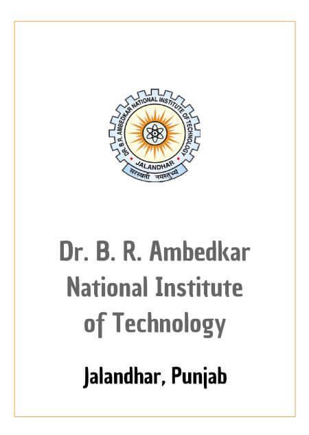Resume Design - NIT Jalandhar