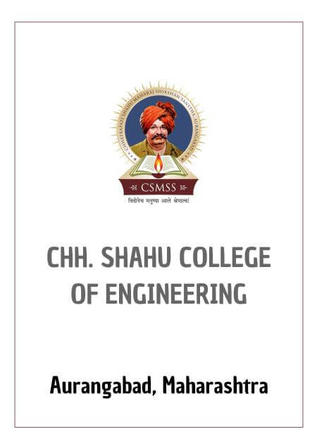 Resume Design - CSMSS CHH. SHAHU COLLEGE OF ENGINEERING - AURANGABAD
