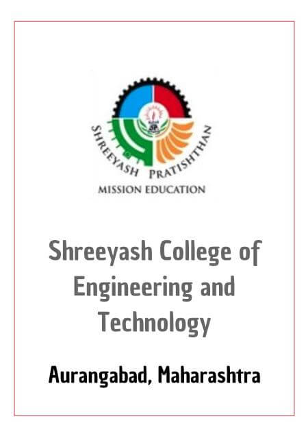 Resume Design - Shreeyash College of Engineering & Technology - Aurangabad