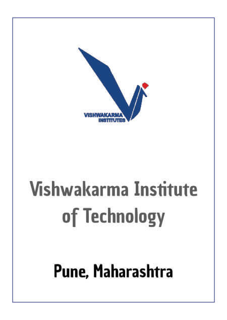 Resume Design - Vishwakarma Institute of Technology, Pune