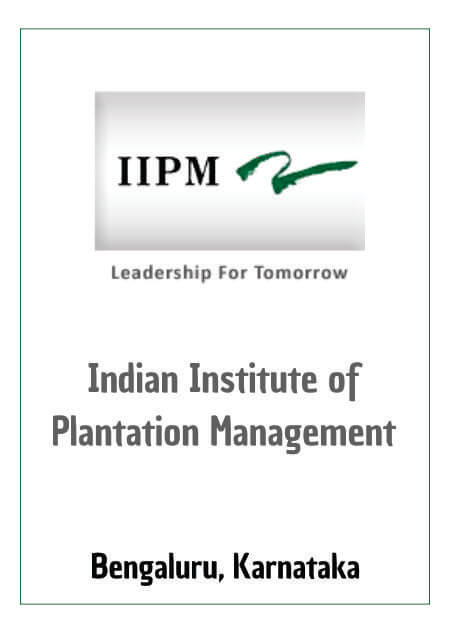 Resume Design - Indian Institute of Plantation Management - Bengaluru