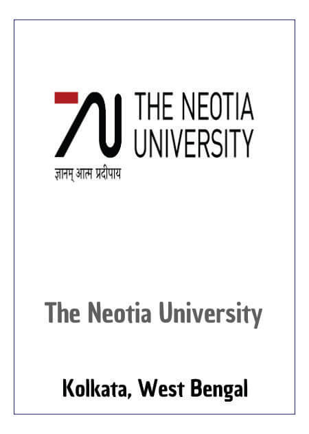 Resume Design - The Neotia University