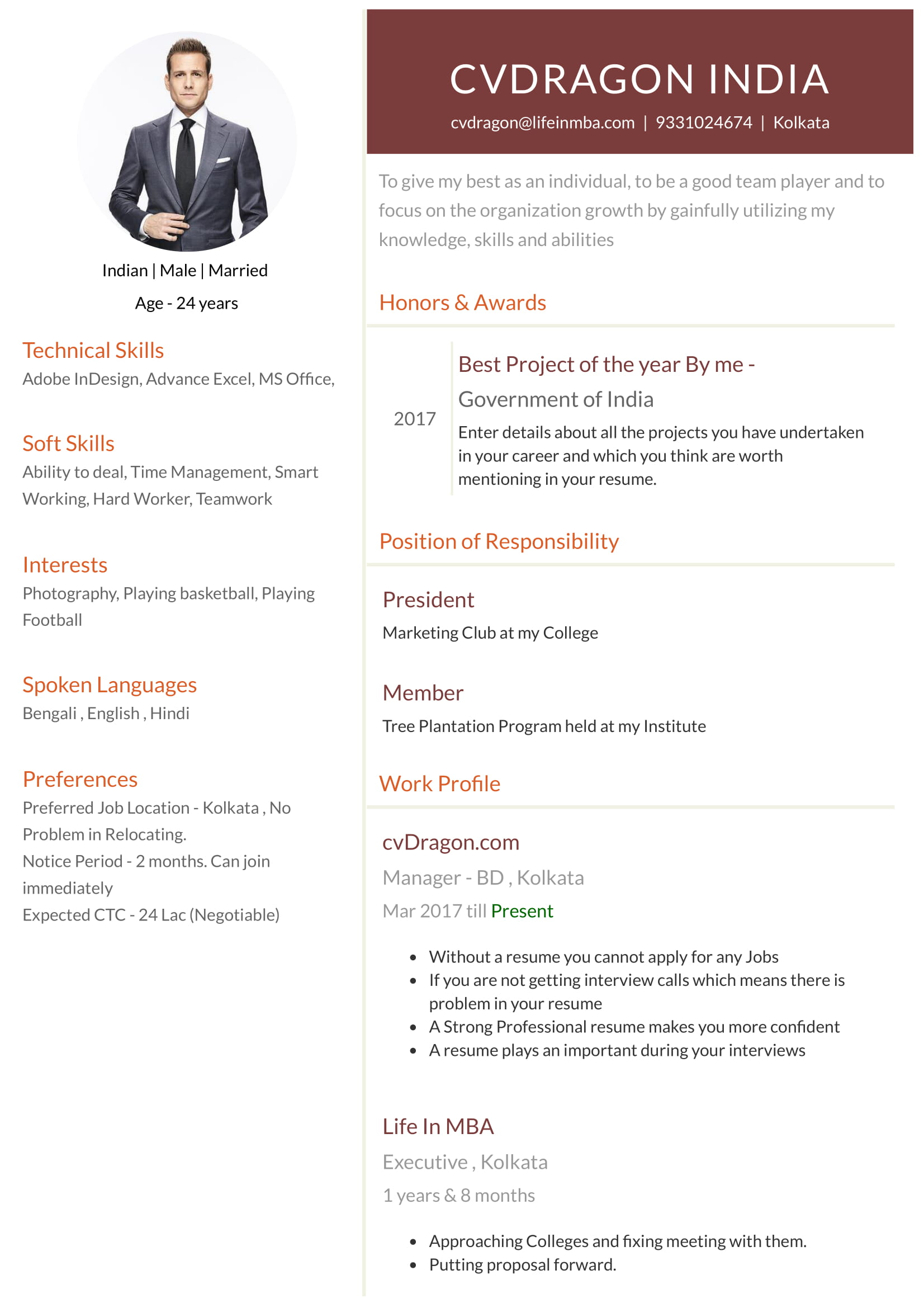 Design   Modern. Benefits Of Creating Your Resume ...