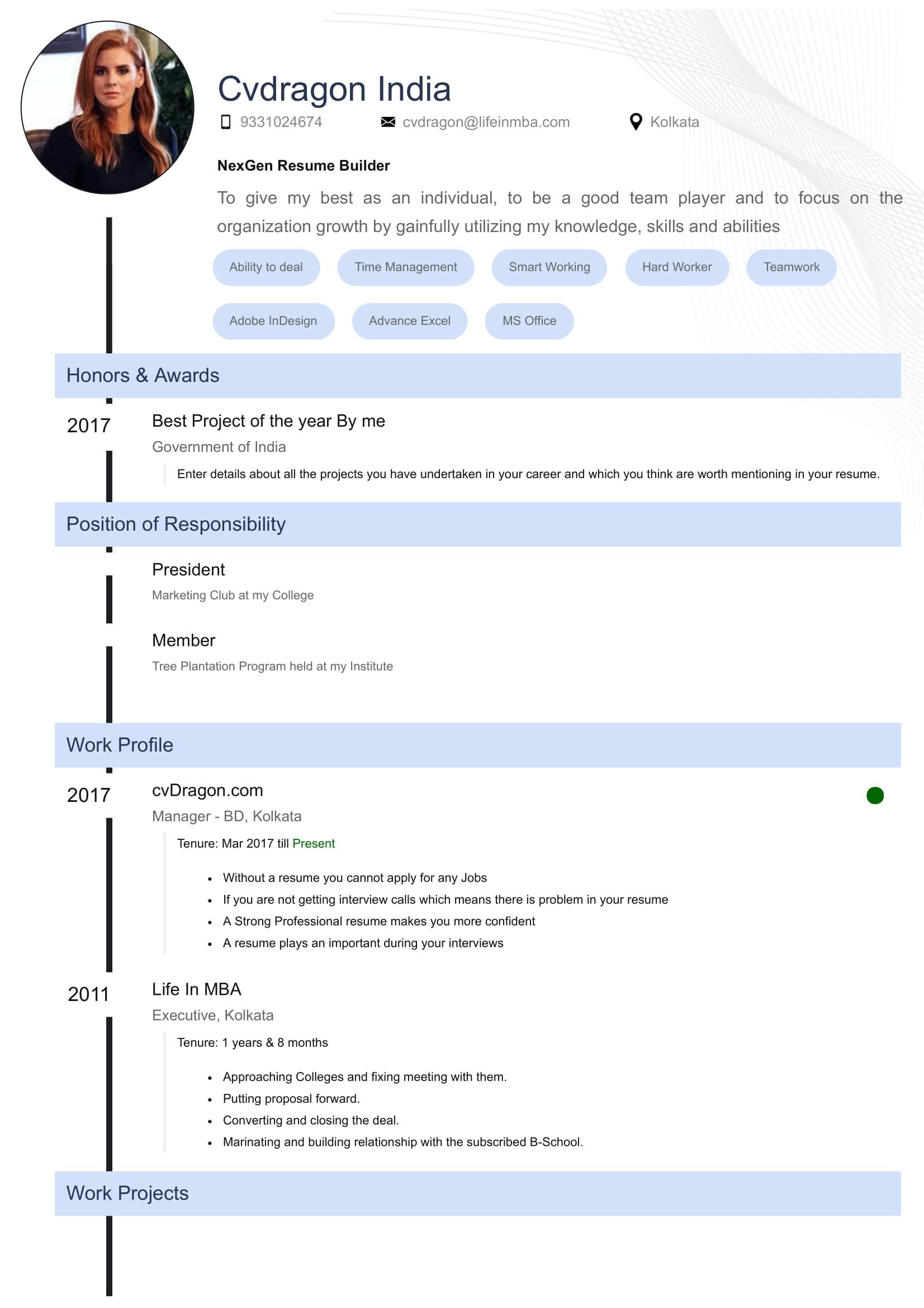 Design - Time Line