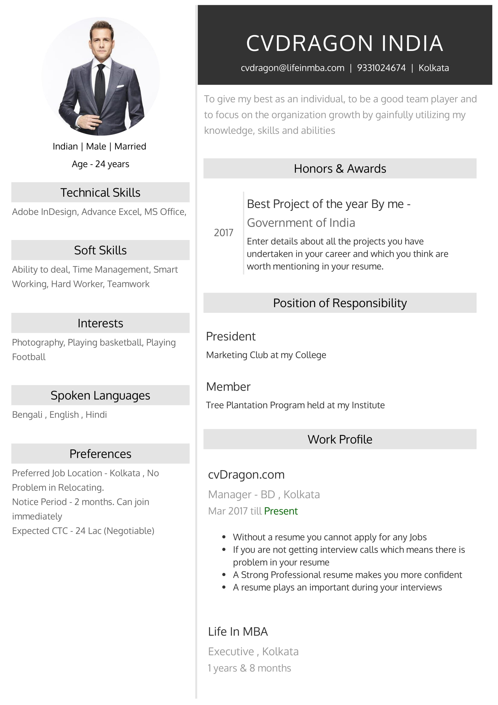 Resume Design - 17