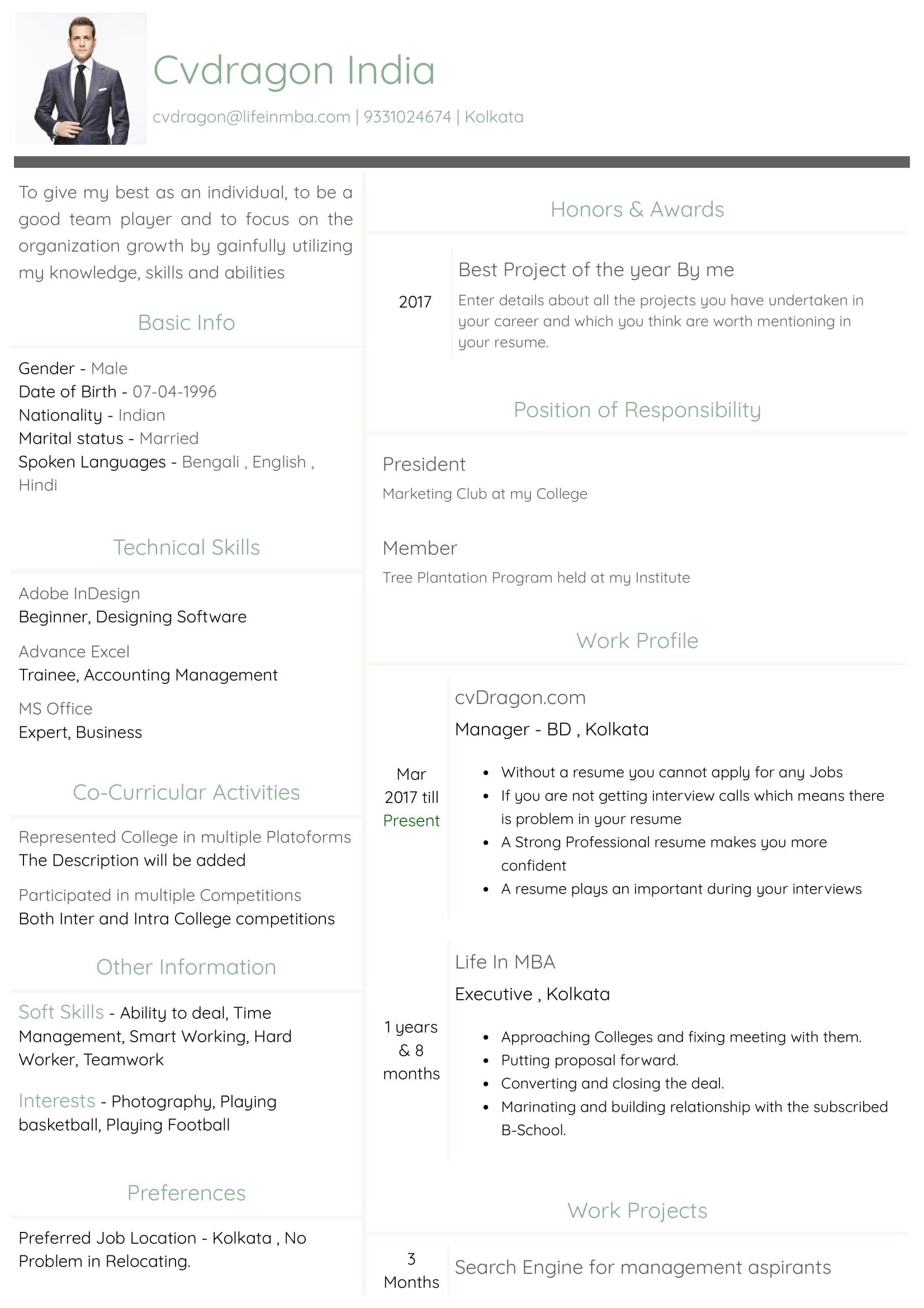 Resume Design - 18
