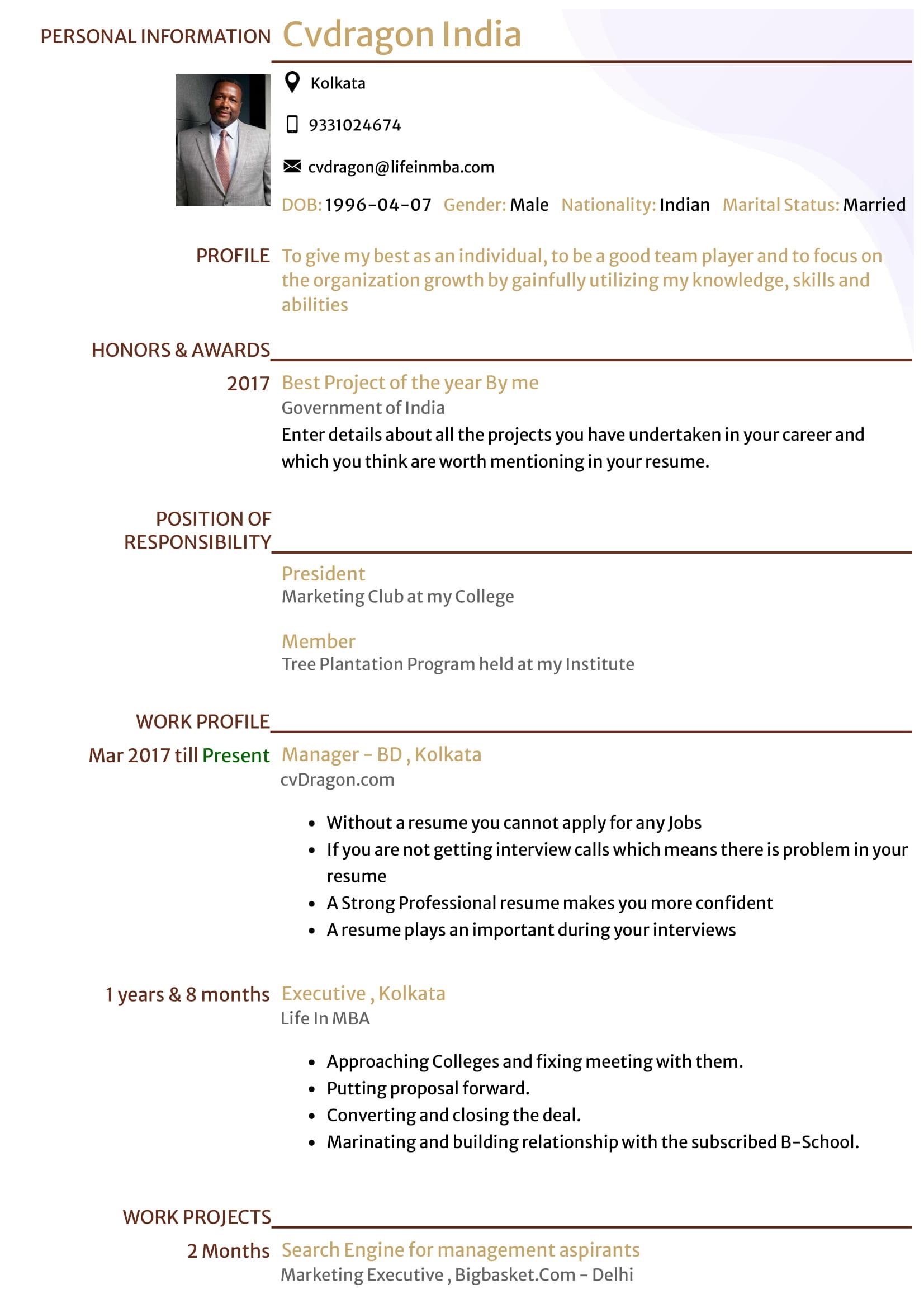 Resume Design - 23