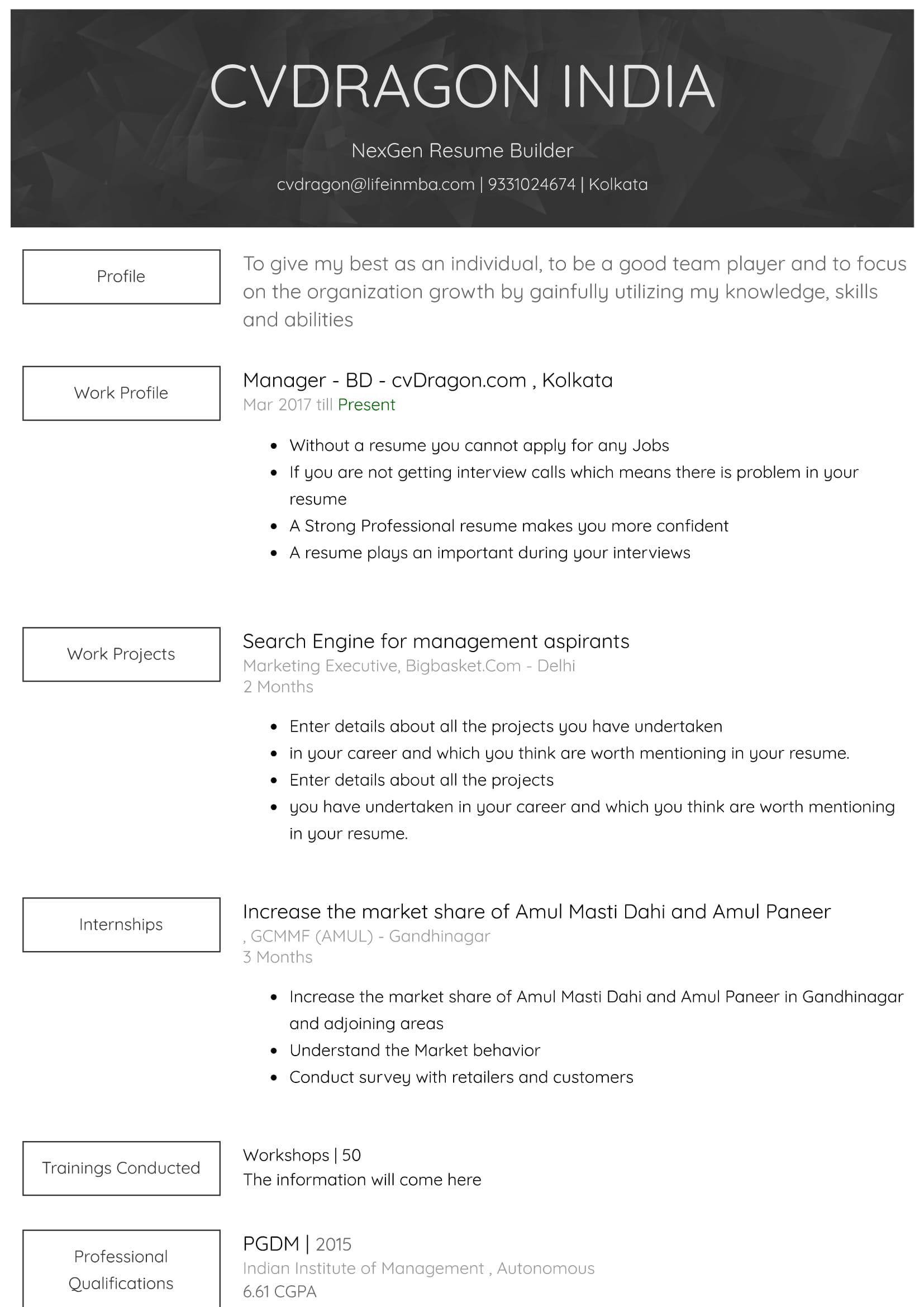 Resume Design - 25