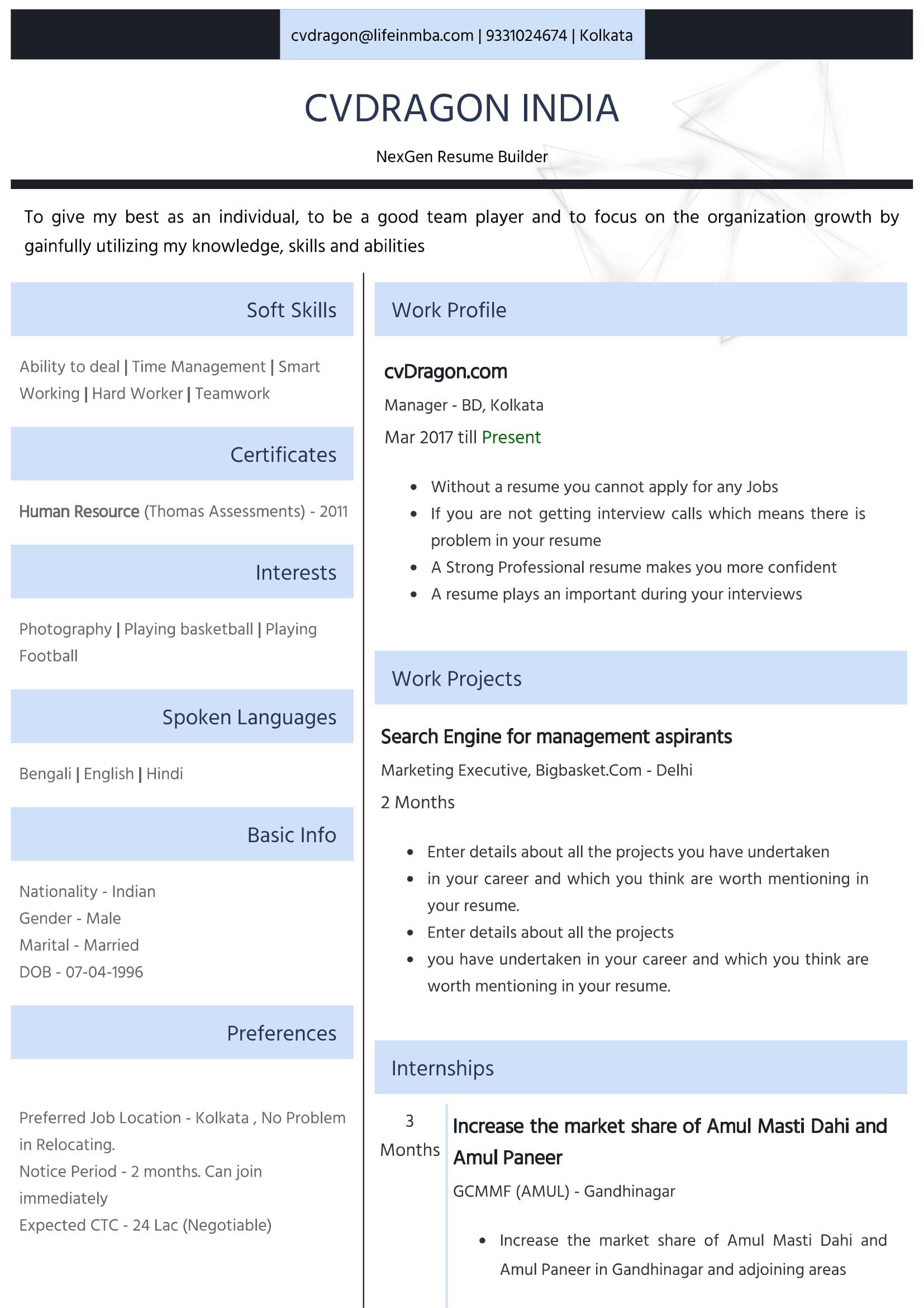 Resume Design - 31