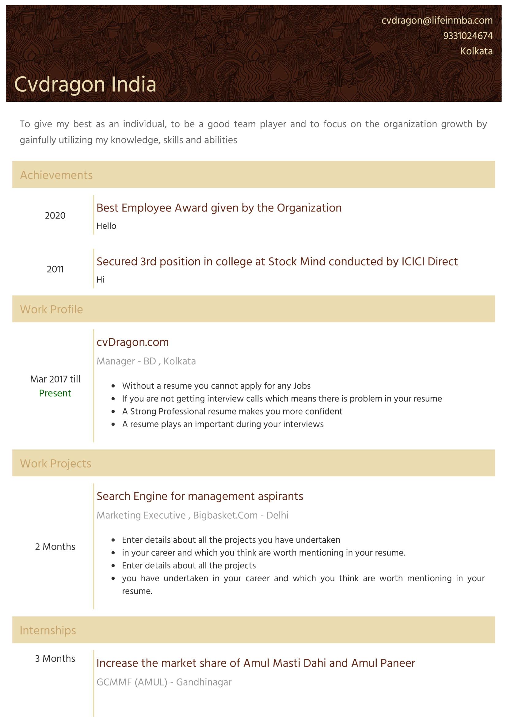 Resume Design - 5
